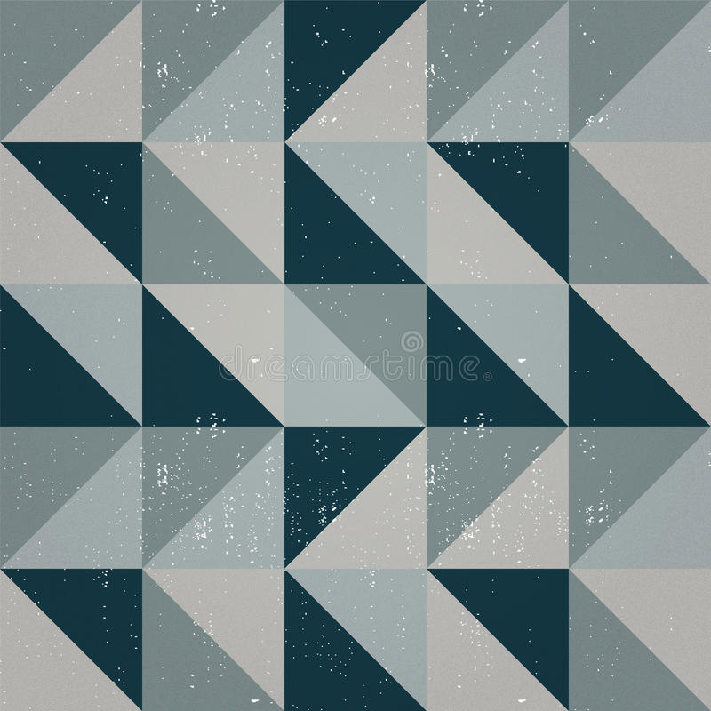Seamless triangle abstract pattern stock image