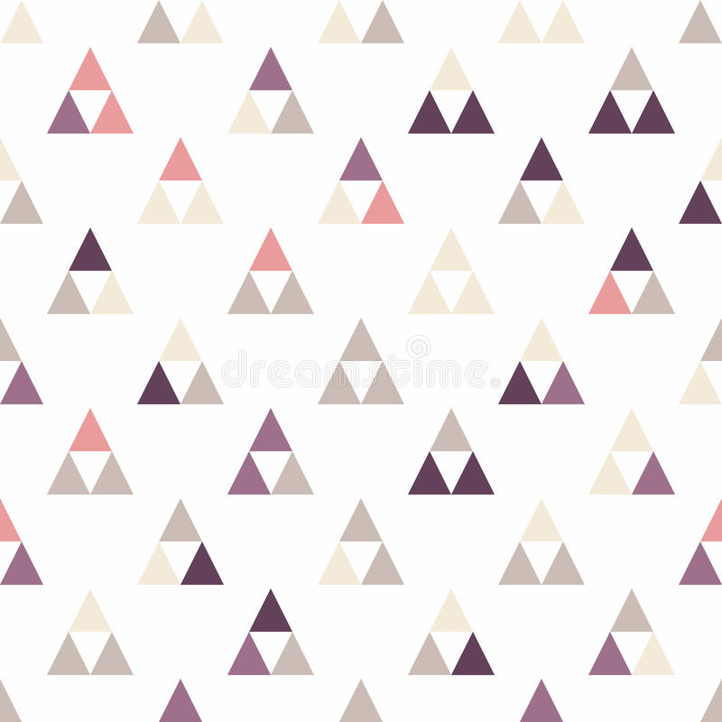 Seamless triangle pattern. Vector background. Geometric abstract texture. Seamless triangle pattern. Geometric abstract texture. vector illustration stock illustration