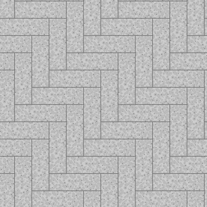Seamless trottoar mönstrar stock illustrationer