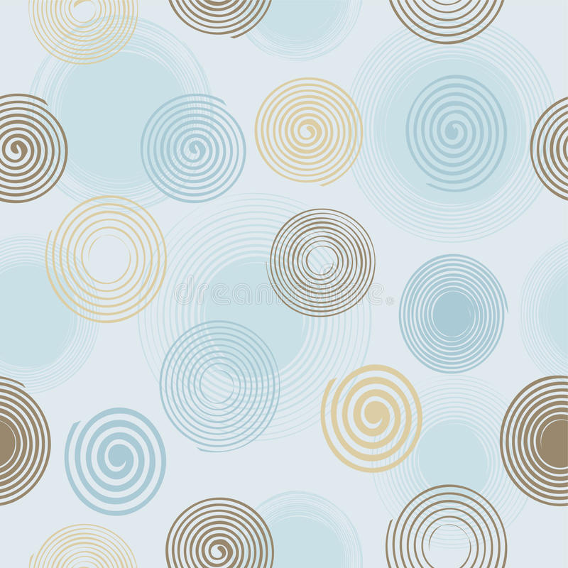 Download Seamless twirls pattern stock vector. Illustration of symbols - 14858693
