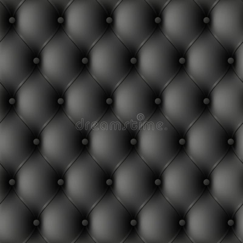 seamless upholstery för illustrationläder royaltyfri illustrationer