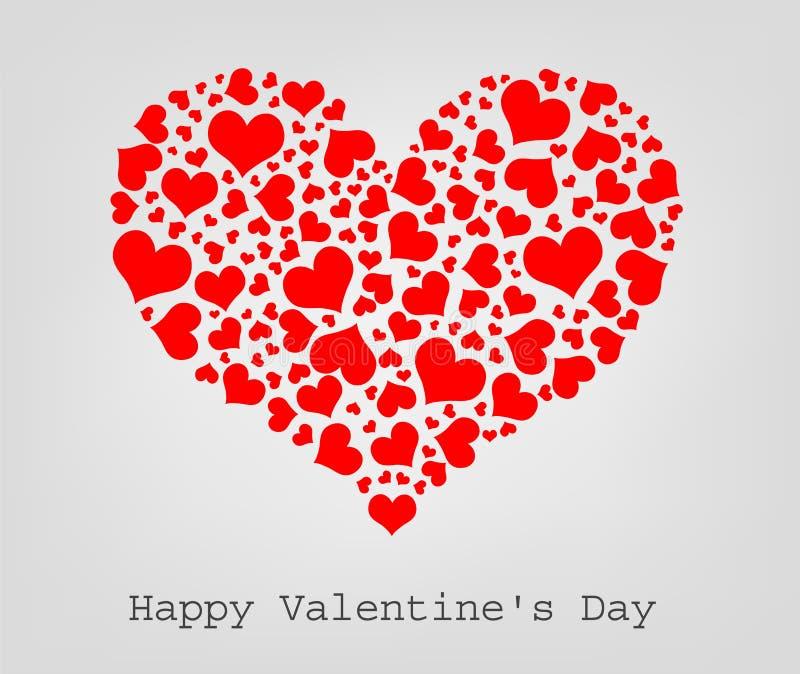 seamless valentin för hjärtor stock illustrationer