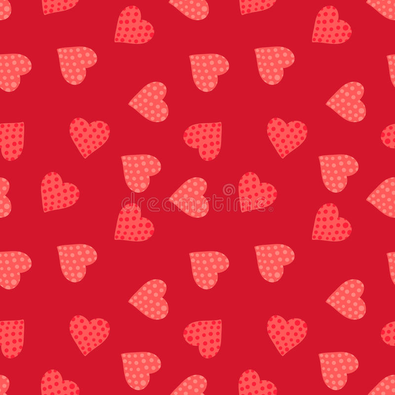 Seamless valentine's day background. This is file of EPS10 format stock illustration