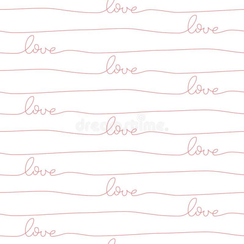 seamless valentiner för dagmodell royaltyfri illustrationer