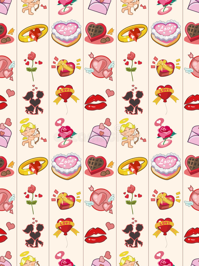 Download Seamless Valentines Day Pattern Stock Vector - Image: 28072218