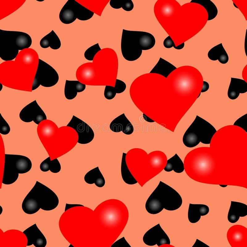 seamless valentinwallpaper stock illustrationer