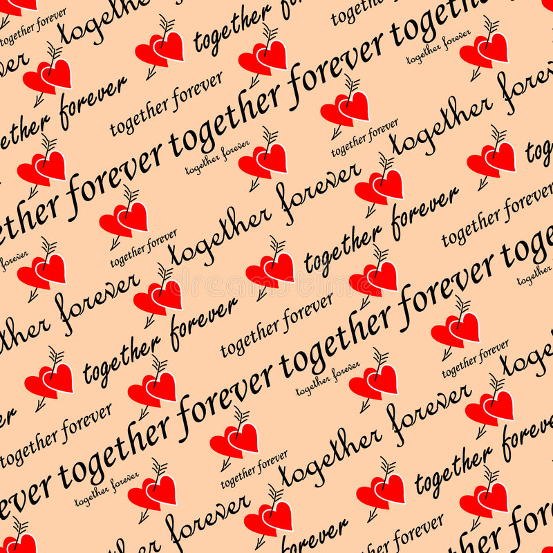 seamless valentinwallpaper stock illustrationer