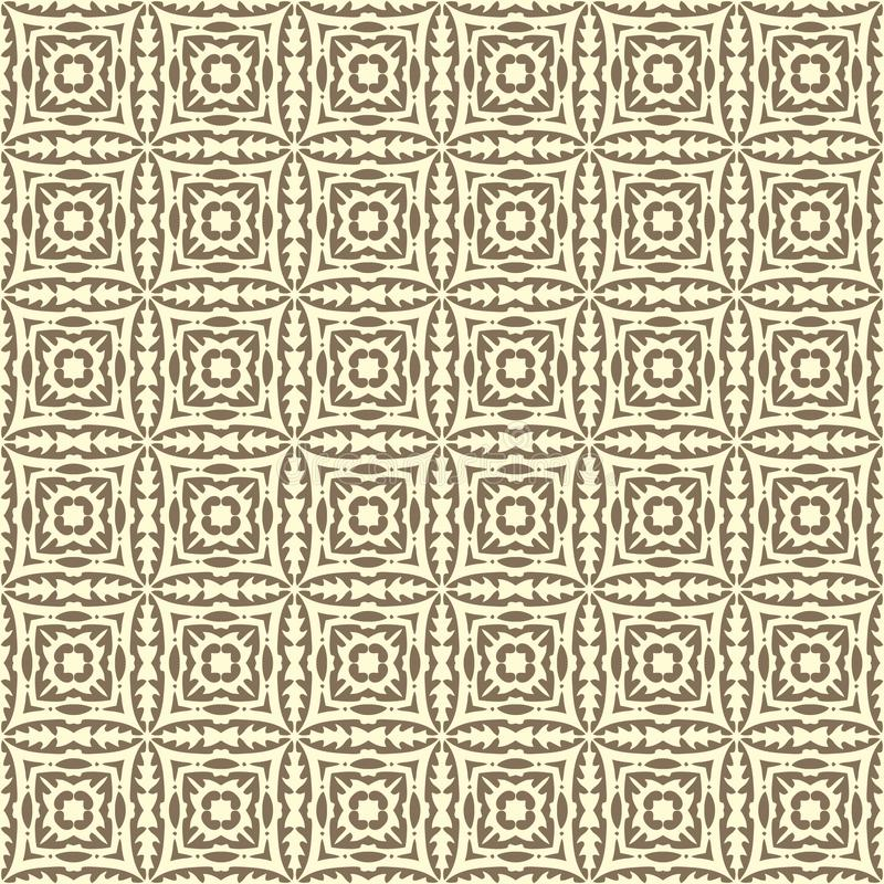 Fabric vector squared design seamless background pattern illustration in coloured royalty free illustration