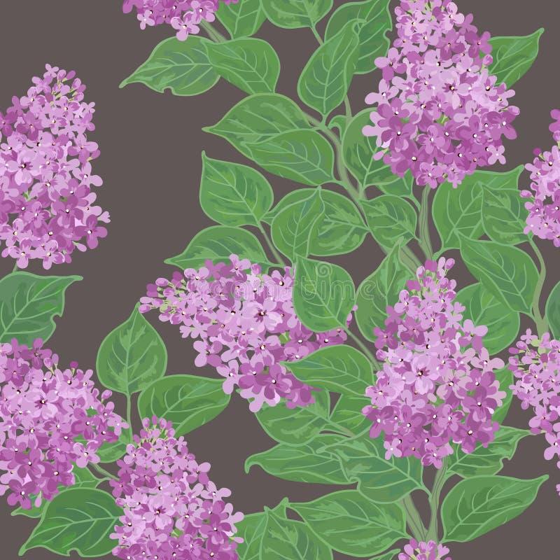 Seamless vector floral pattern vector illustration