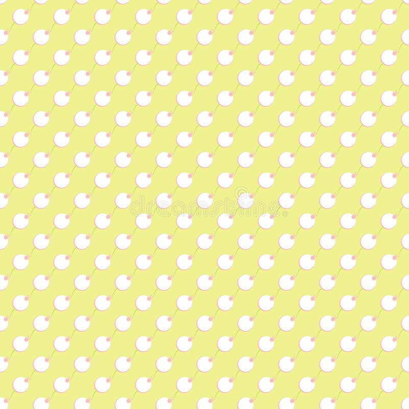 Seamless vector floral wallpaper. royalty free stock photos