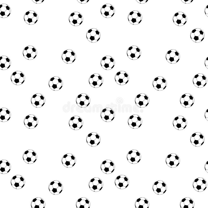 Download Seamless Vector Football Background Stock Vector - Illustration of backdrop, championship: 118680102