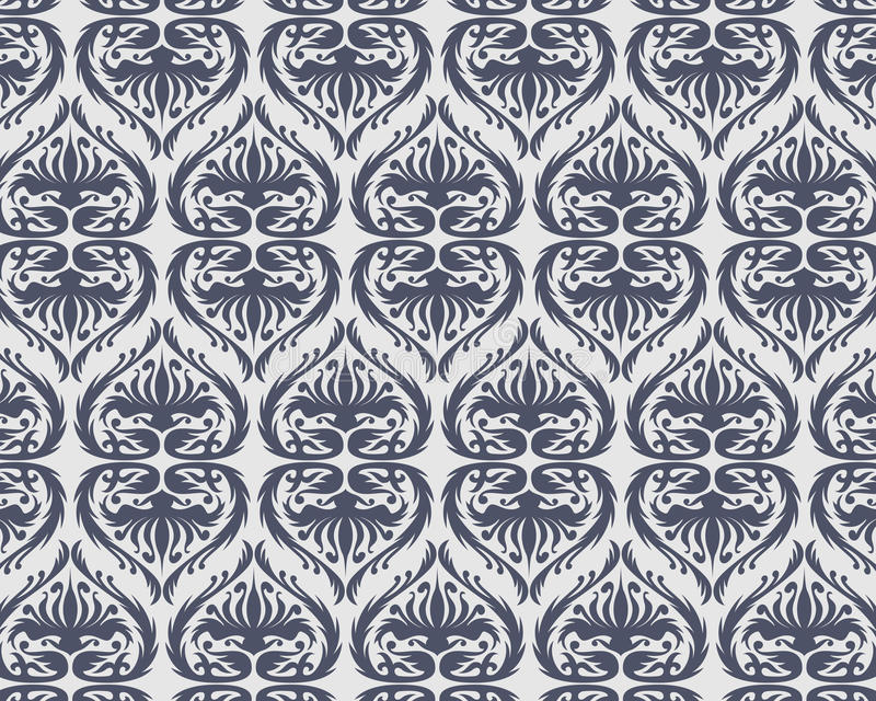 Seamless vector pattern royalty free illustration