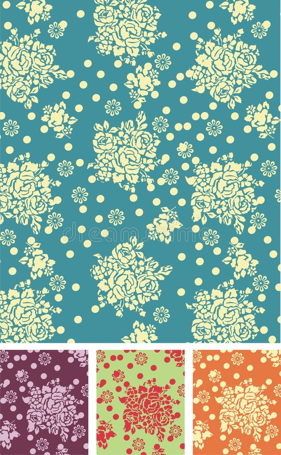 Free Seamless Vector Pattern Stock Photography - 8223002