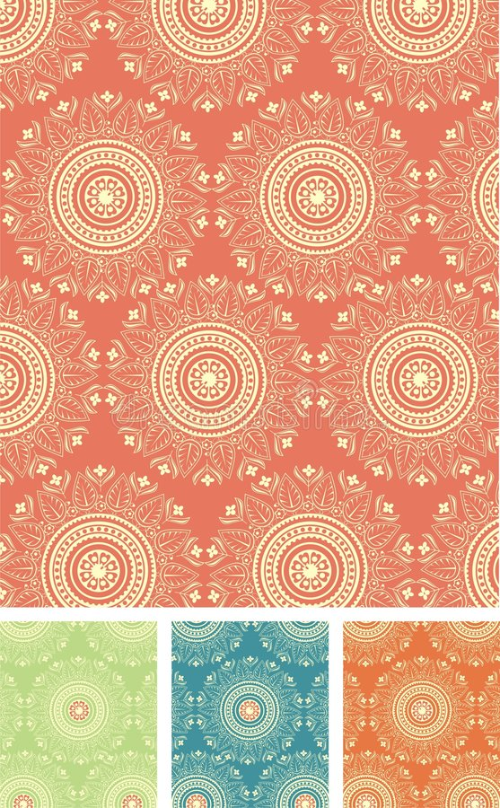 Free Seamless Vector Pattern Royalty Free Stock Photo - 8223005