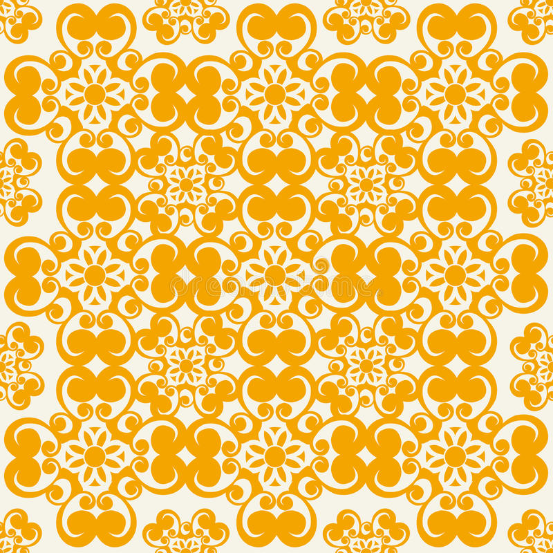 Download Seamless vector pattern stock vector. Image of flourish - 33332646