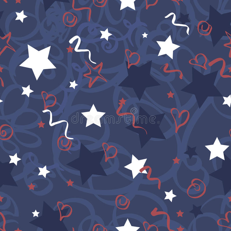 Download Seamless Vector Pattern Memorial Day Royalty Free Stock Photography - Image: 30958127