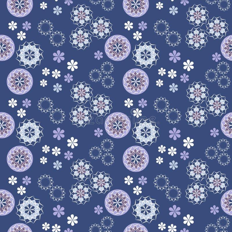 Seamless vector spring pattern stock illustration
