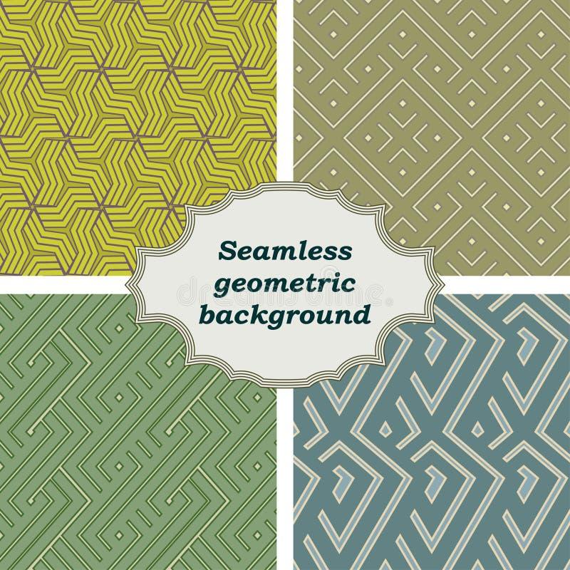 seamless vektor för abstrakt färgrik etnisk geometrisk illustrationmodell också vektor för coreldrawillustration royaltyfri illustrationer
