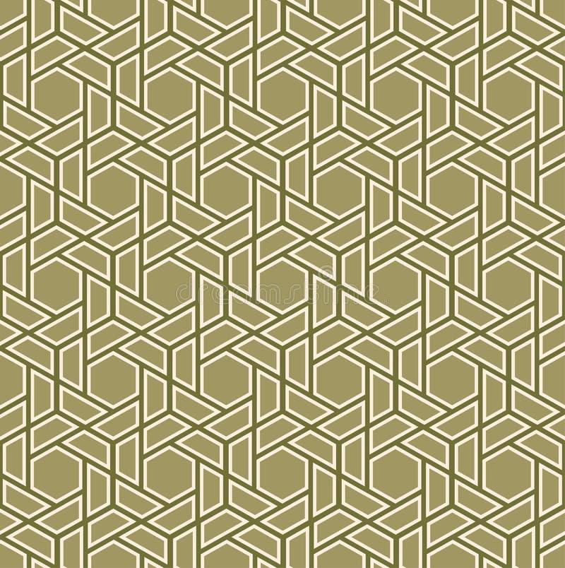 seamless vektor för bakgrund Modern stilfull textur av trianglar och polygoner Upprepning av det geometriska rastret Enkel grafis royaltyfri illustrationer