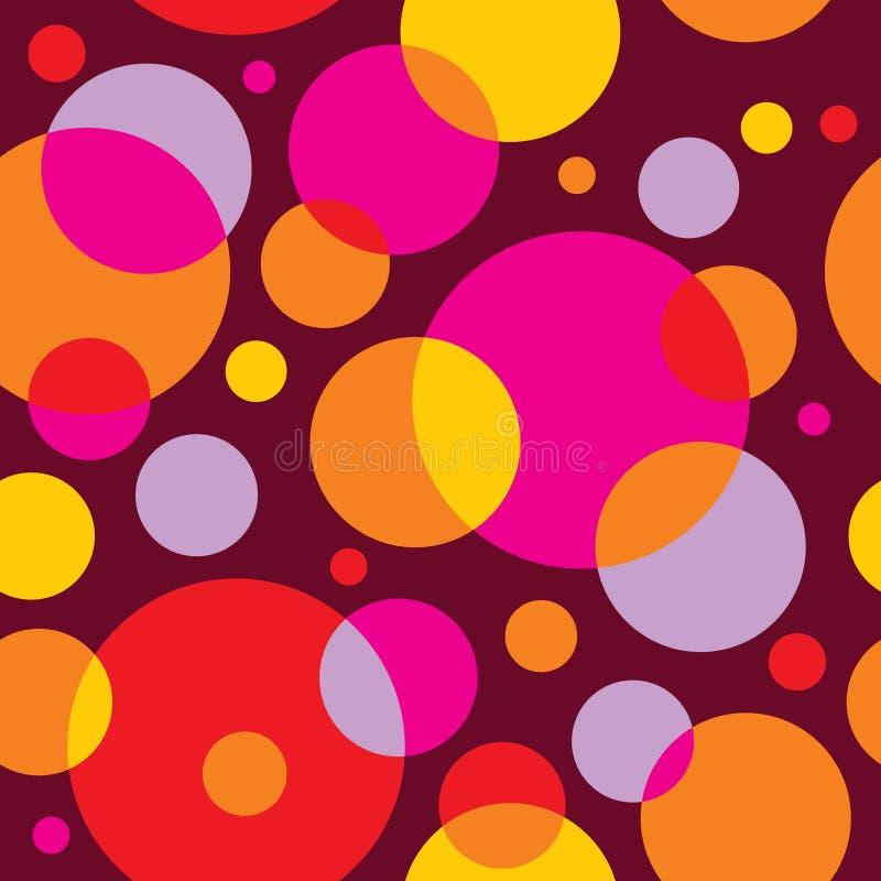 seamless vektor för färgrik modell royaltyfri illustrationer