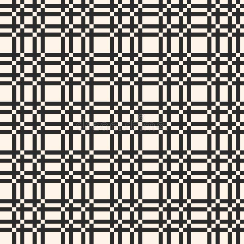 seamless vektor för gallermodell Fyrkantig textur, rasterbakgrund stock illustrationer