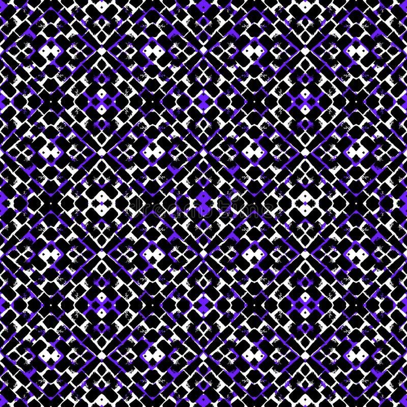 seamless vektor för geometrisk modell royaltyfri illustrationer