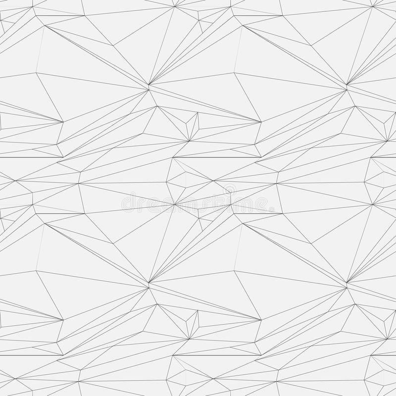 seamless vektor för modell abstrakt bakgrund Upprepa geometriska tegelplattor med den prickiga romben stock illustrationer