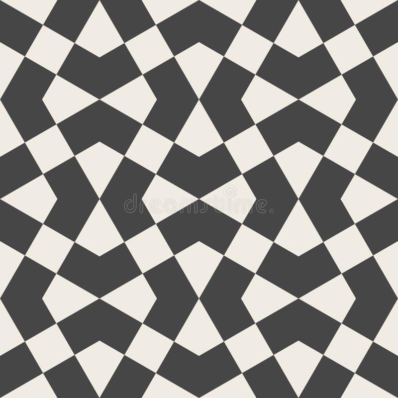 seamless vektor för modell Arabisk geometrisk textur stock illustrationer
