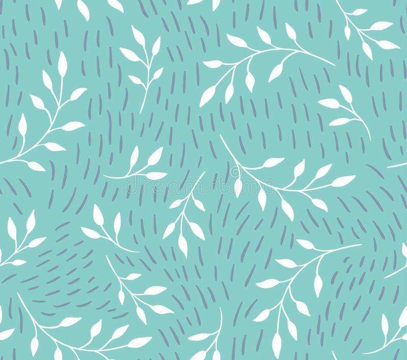 seamless vektor för modell Blom- stilfull bakgrund stock illustrationer