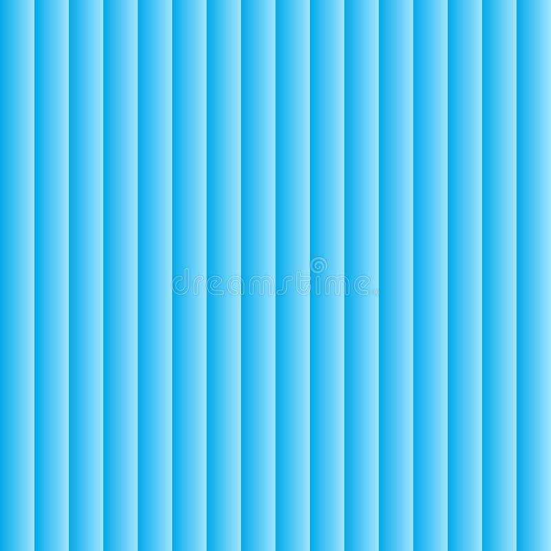 seamless vektor för modell Den geometriska volymen med en lutningmodell Blå geometrisk neutral bakgrund royaltyfri illustrationer
