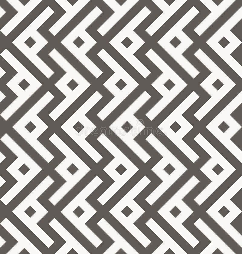seamless vektor för modell geometrisk textur royaltyfri illustrationer