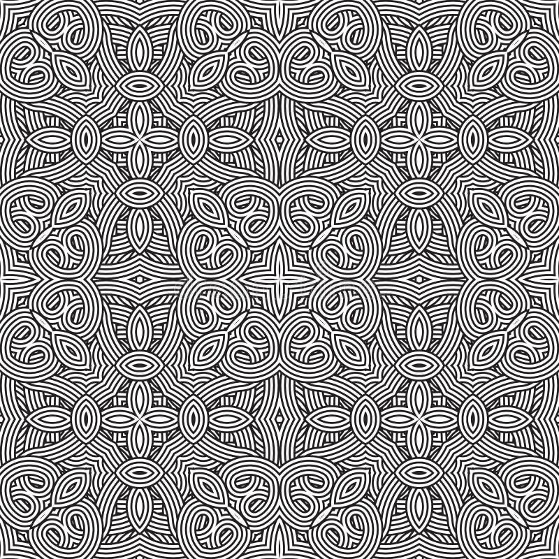 seamless vektor för modell geometrisk wallpaper royaltyfri illustrationer