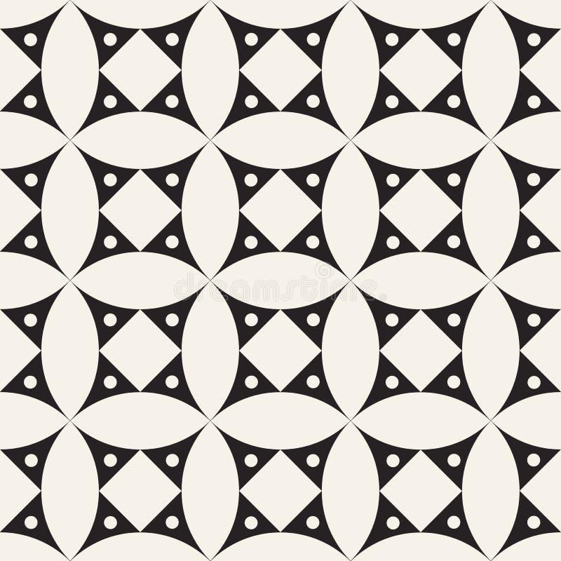 seamless vektor för modell geometriska tegelplattor stock illustrationer