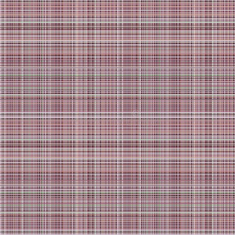 seamless vektor för modell Pastellfärgad rutig bakgrund i violet färgar, textur för tygprovkartaprövkopior av linnetorkduken royaltyfri illustrationer