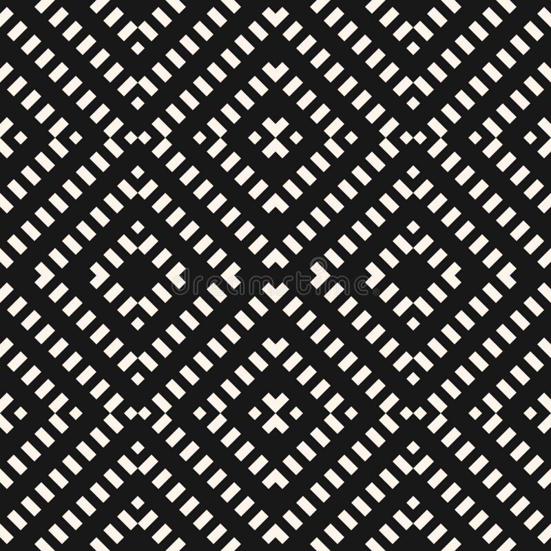 seamless vektor f?r geometrisk modell E vektor illustrationer