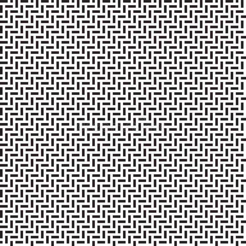 seamless vektor f?r modell Modern stilfull textur med monokrom spalj? Sakral geometri f?r moderiktig hipster stock illustrationer