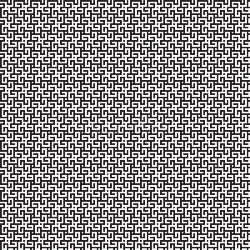 seamless vektor f?r modell Modern stilfull textur med monokrom spalj? Sakral geometri f?r moderiktig hipster vektor illustrationer