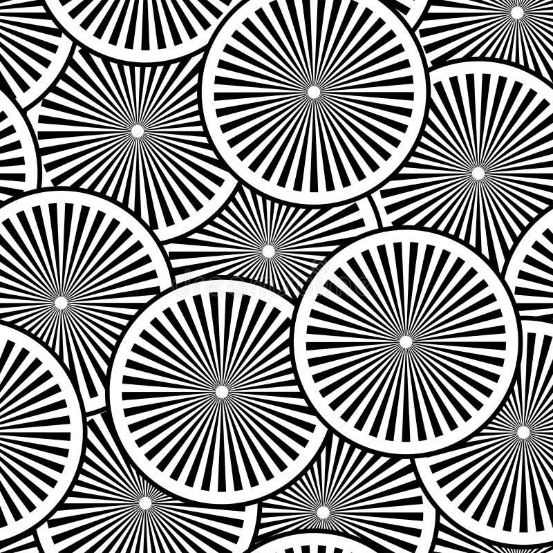 Seamless vektormodell stock illustrationer