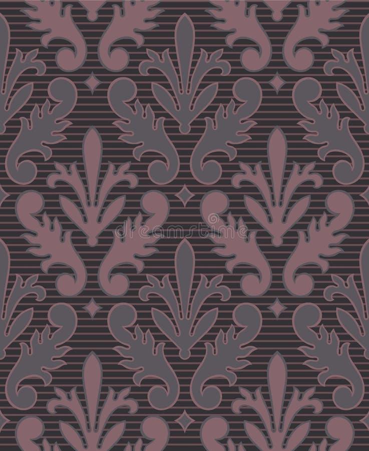 seamless victorian för bakgrund vektor illustrationer