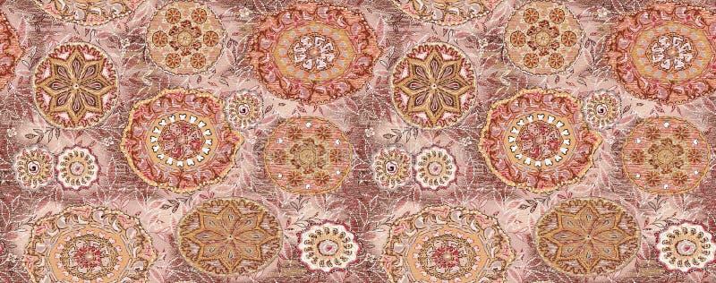 Seamless vintage decorative design royalty free illustration