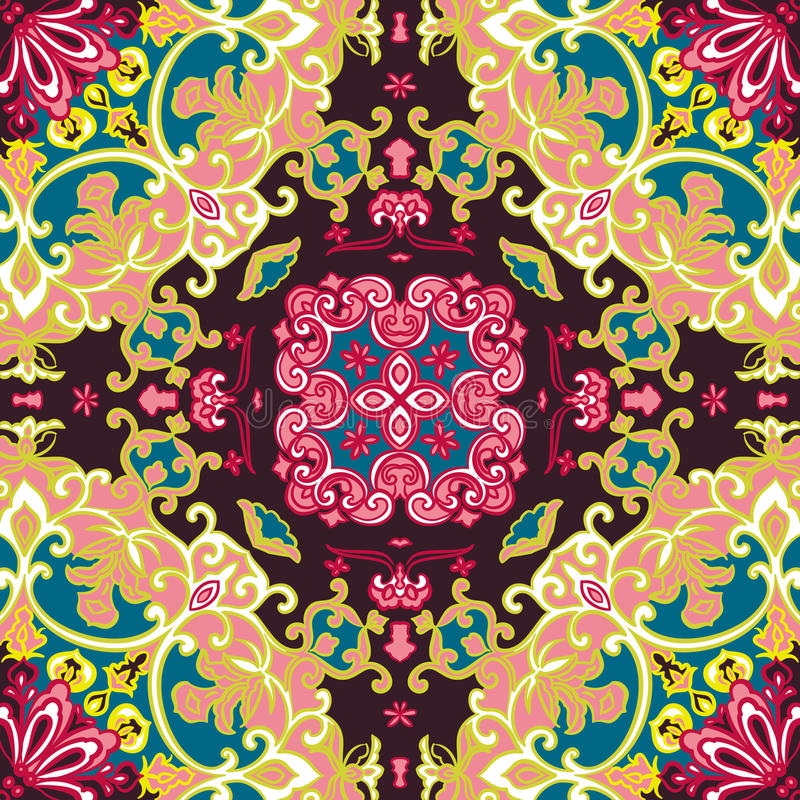 Download Seamless Vintage Floral Pattern Stock Vector - Image: 32039400