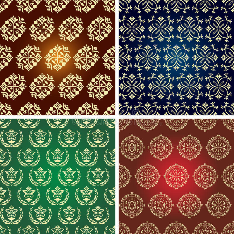 Download Seamless Vintage Pattern. Stock Photo - Image: 18515870
