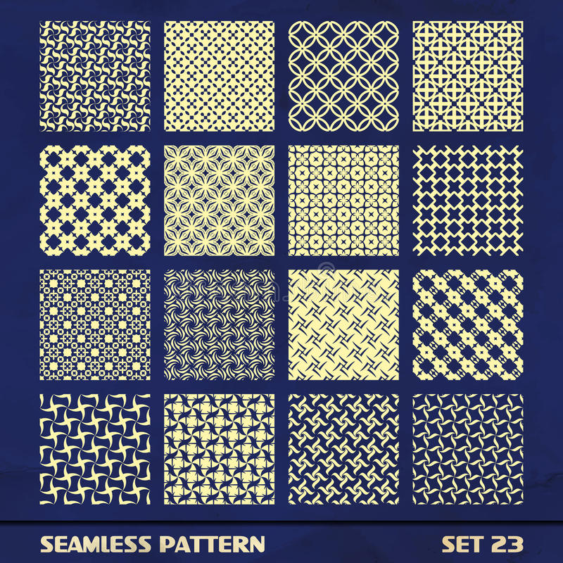 Download Seamless vintage pattern. stock vector. Image of beauty - 34642228
