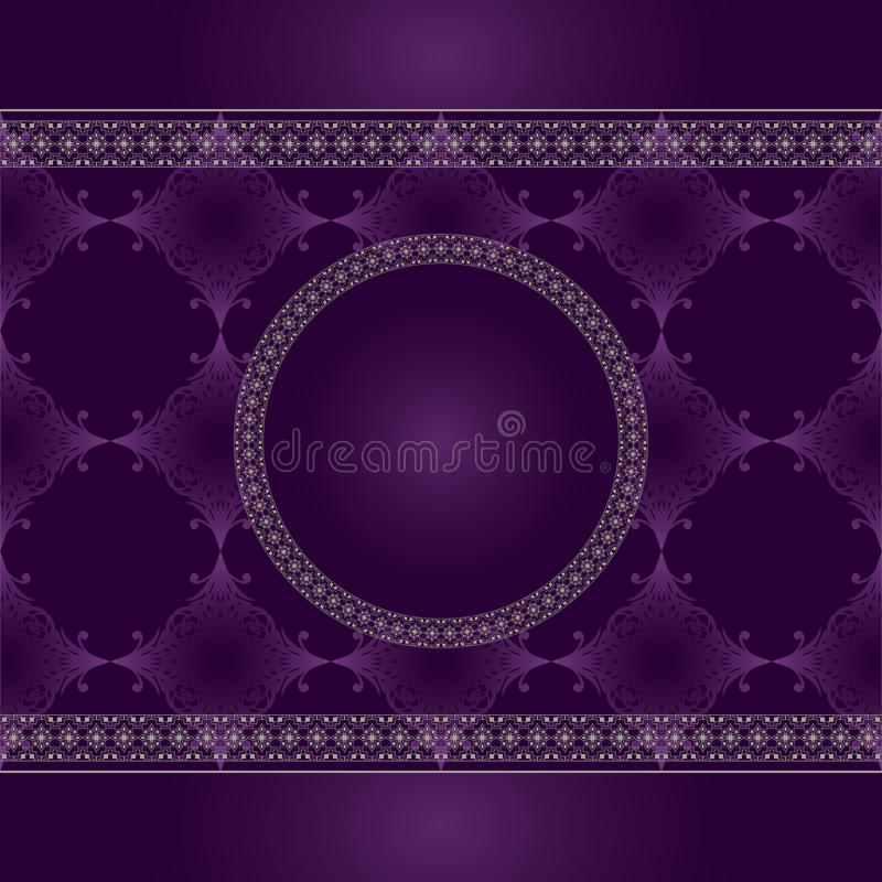 Download Seamless Vintage Pattern With Lace Stock Vector - Image: 22059469