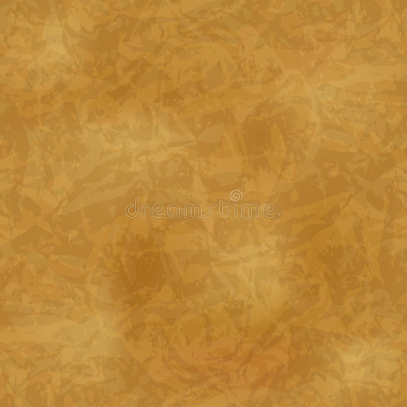 Seamless vintage pattern on old paper texture royalty free illustration