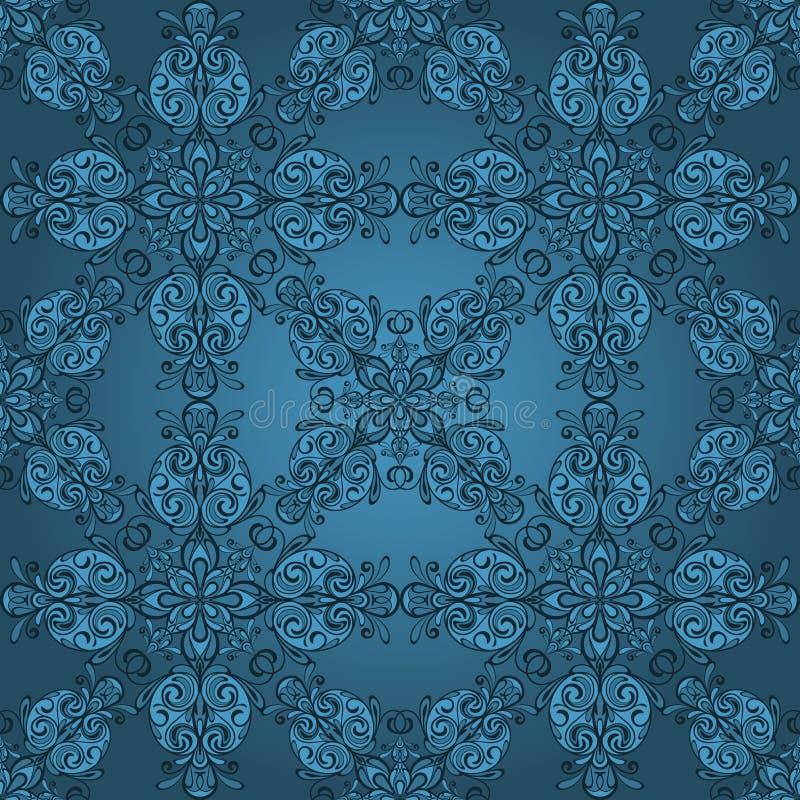 seamless vintage retro pattern