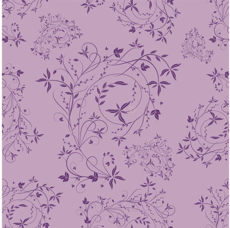 seamless violet för modell royaltyfri illustrationer