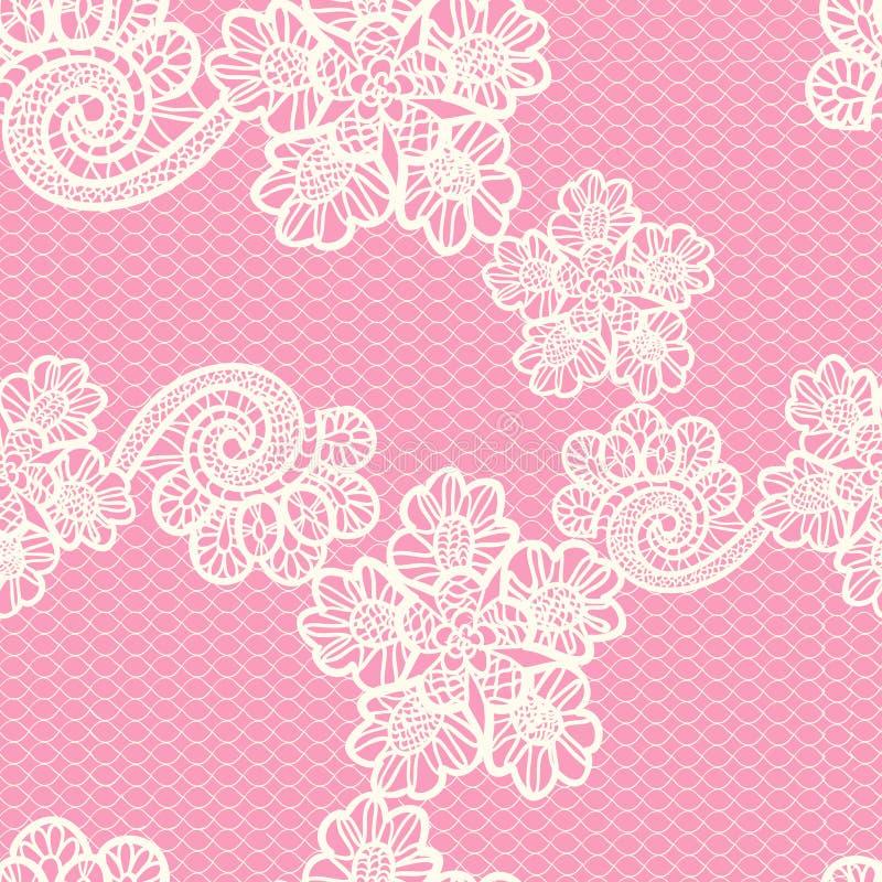 Seamless snöra åt mönstrar stock illustrationer