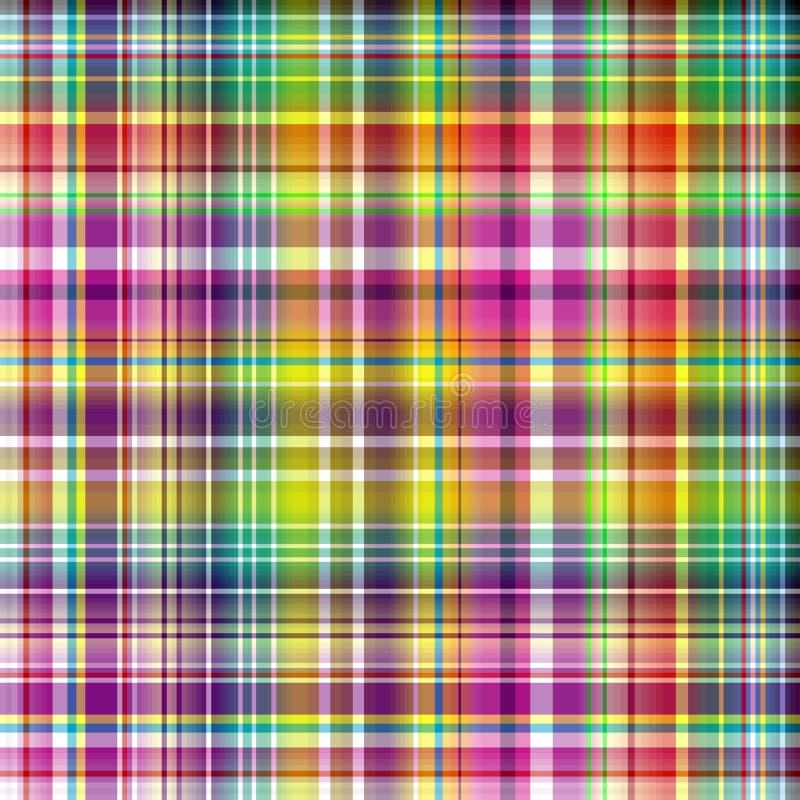 Seamless vivid checkered pattern
