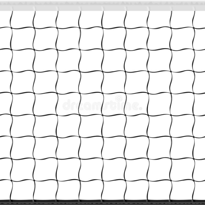 Free Seamless Volleyball Net Royalty Free Stock Photography - 19970357